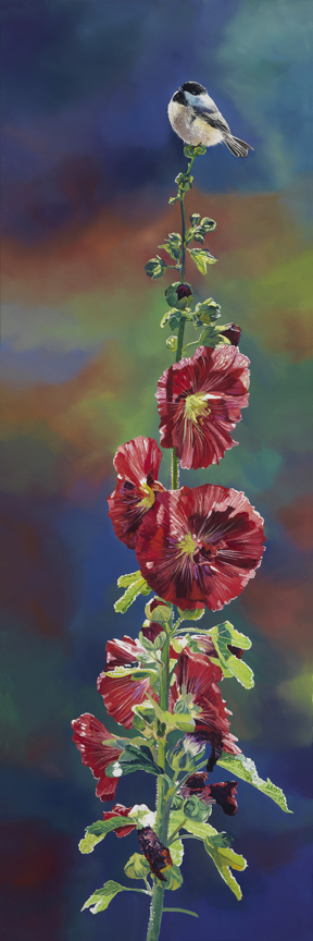 Hollyhock by Andrew Kiss