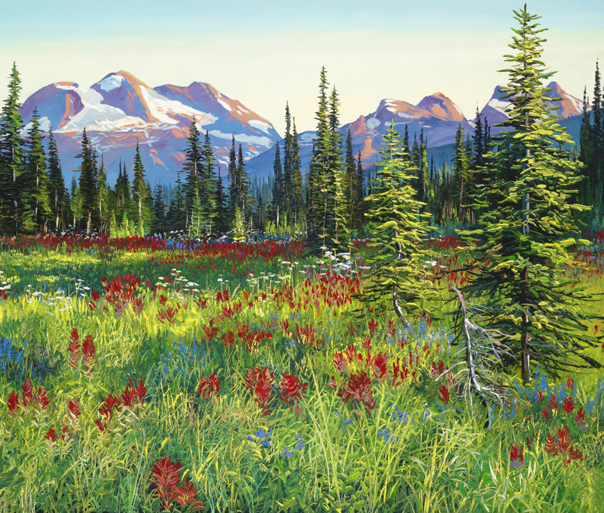 Meadow of Fire by Andrew Kiss