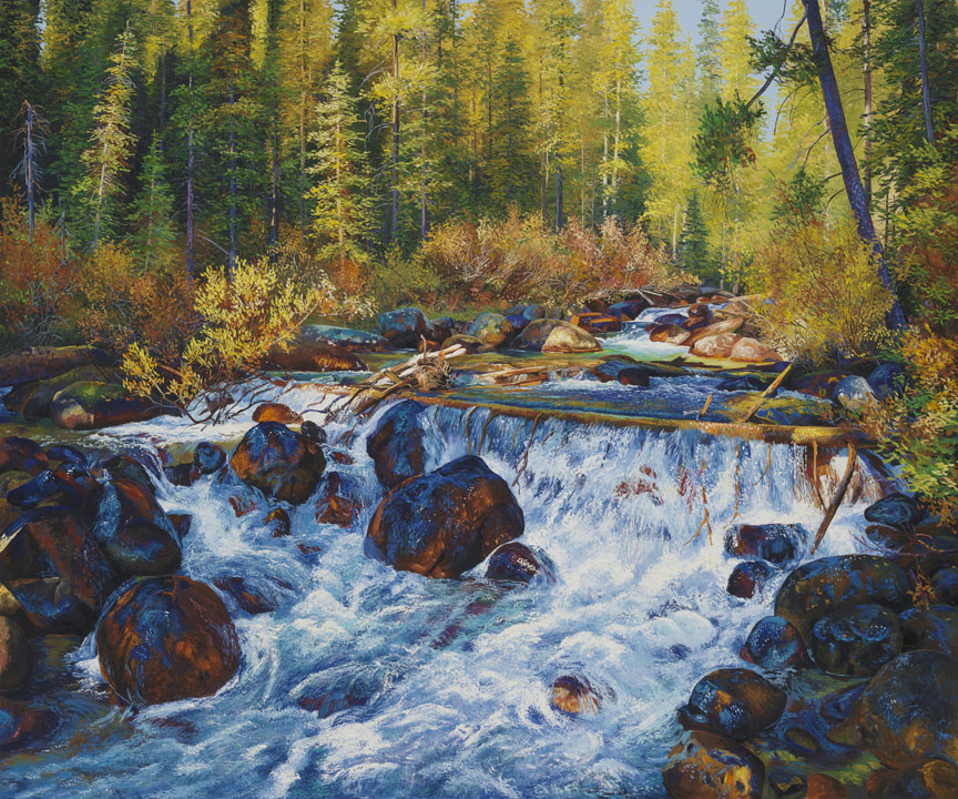 Moraine Creek by Andrew Kiss
