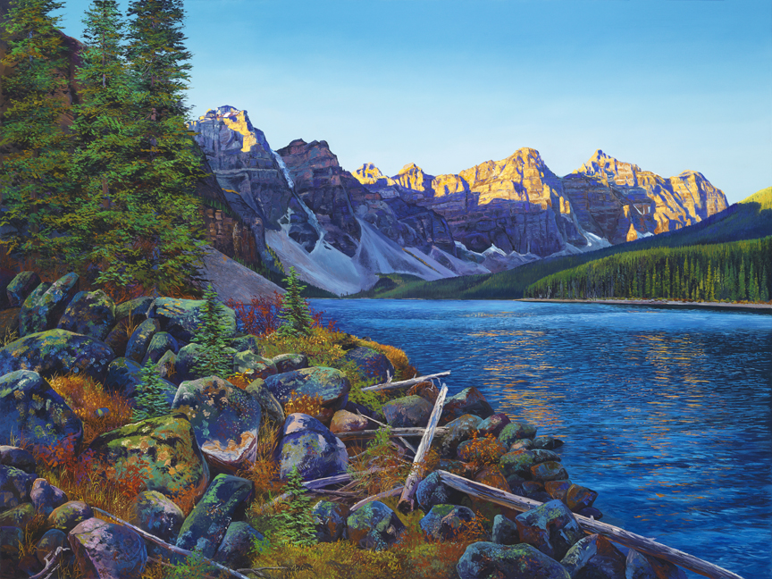 Moraine Morning by Andrew Kiss