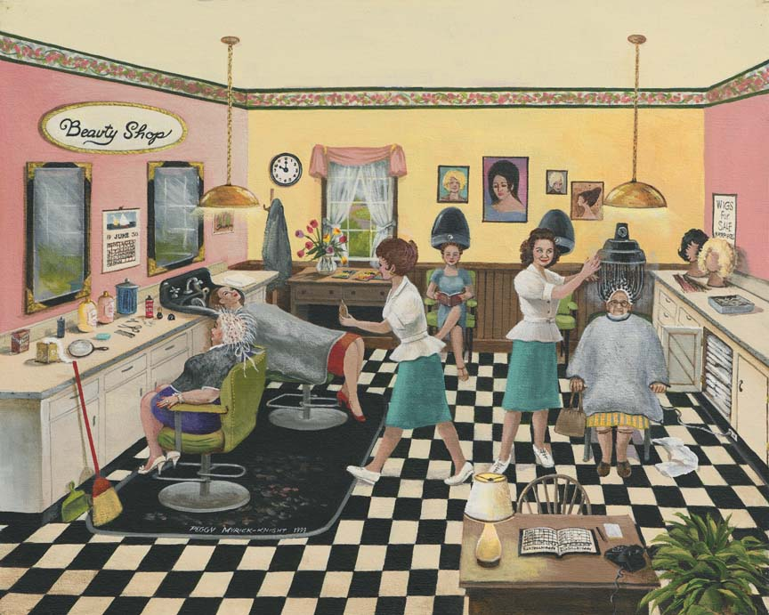 Beauty Shop by Peggy Myrick Knight