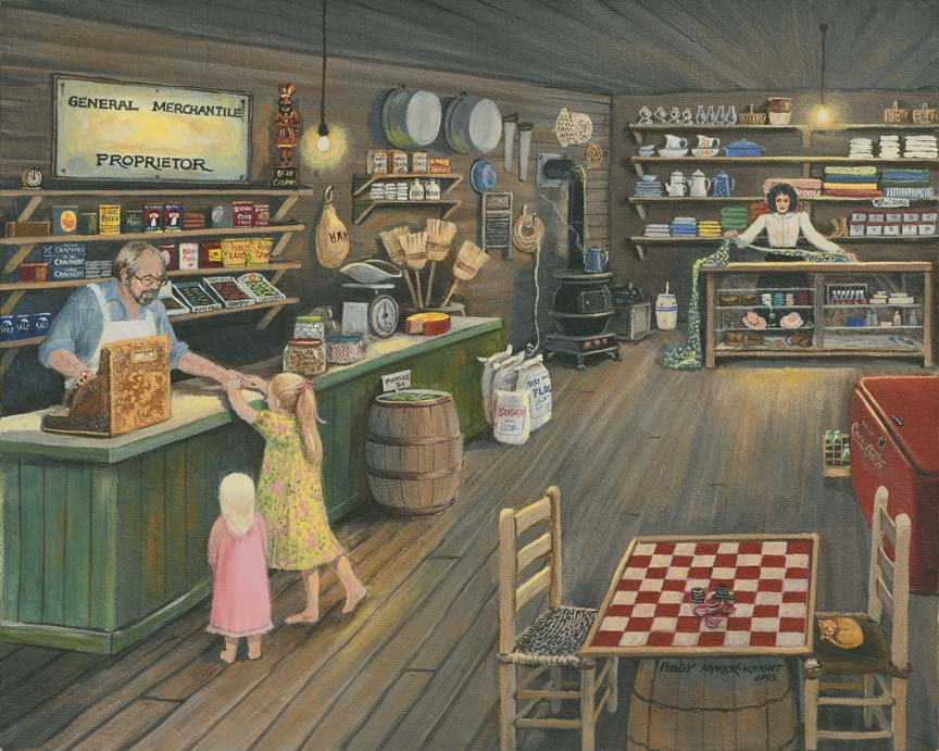 Buying Candy by Peggy Myrick Knight
