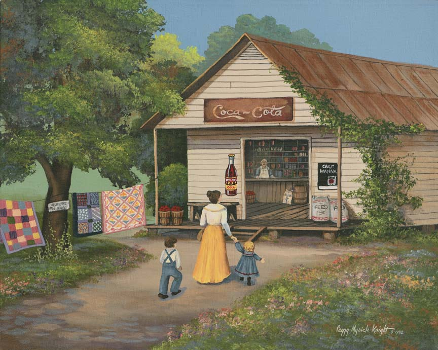 Going To The Store by Peggy Myrick Knight