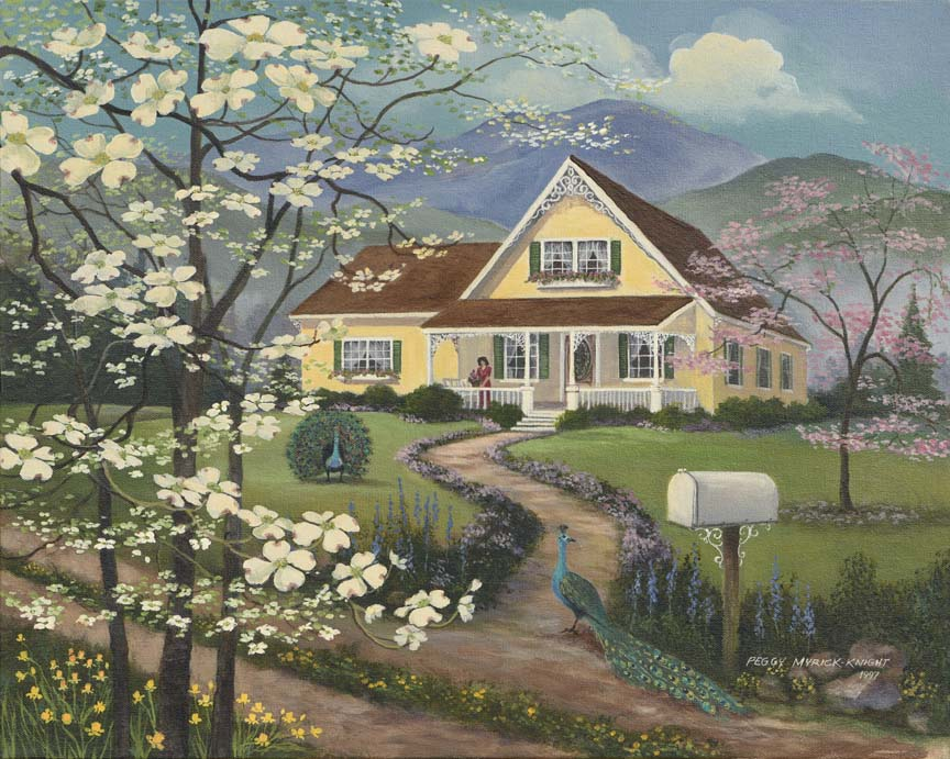 The Yellow House by Peggy Myrick Knight