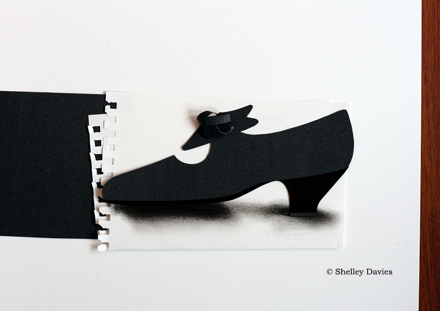 Adults – Evening Shoe © Shelley Davies