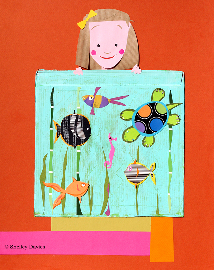 Children – Aquarium © Shelley Davies