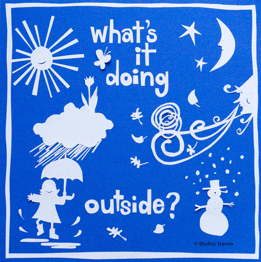 Children – What's It Doing Outside © Shelley Davies