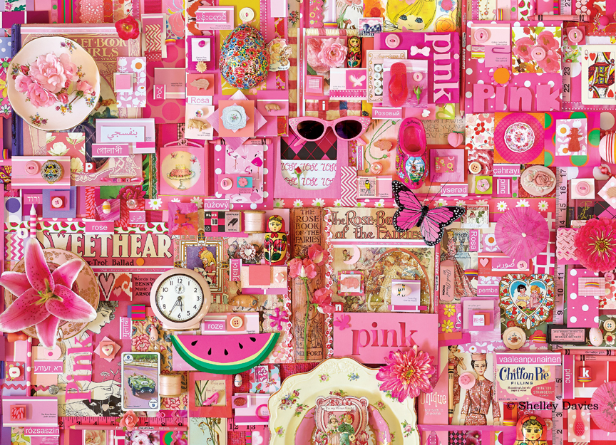 Color – Pink © Shelly Davies