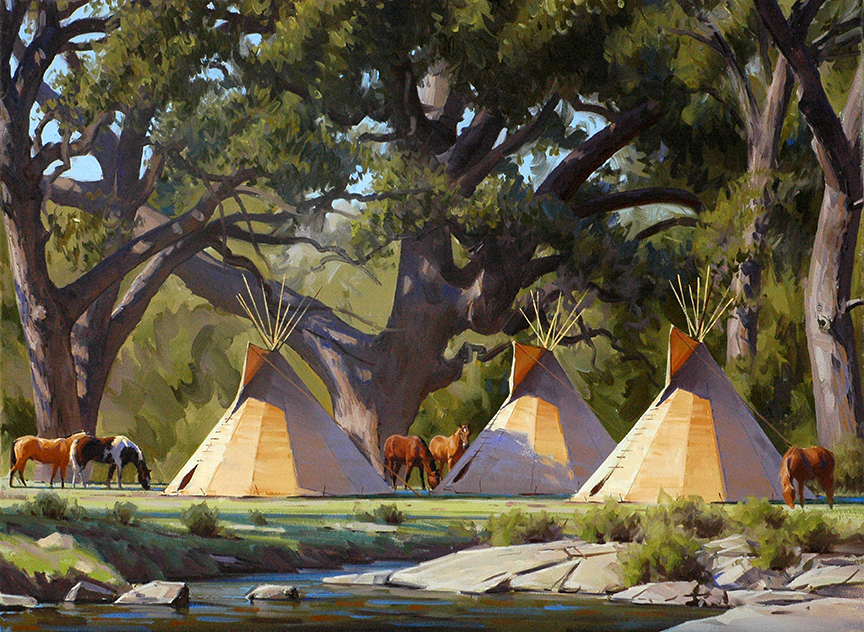 Comanche Morning © Jimmy Dyer