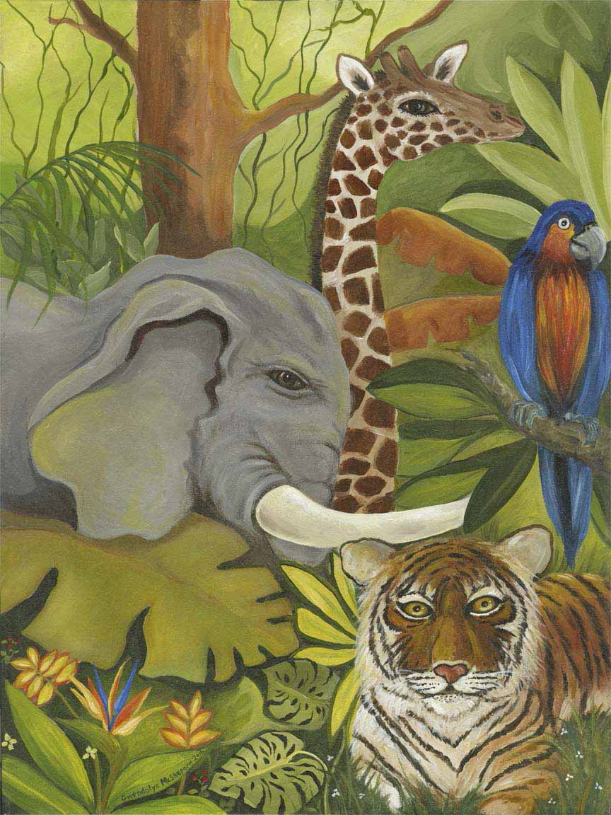 GM – Nature – Animal Party I © Gwendolyn McShepard