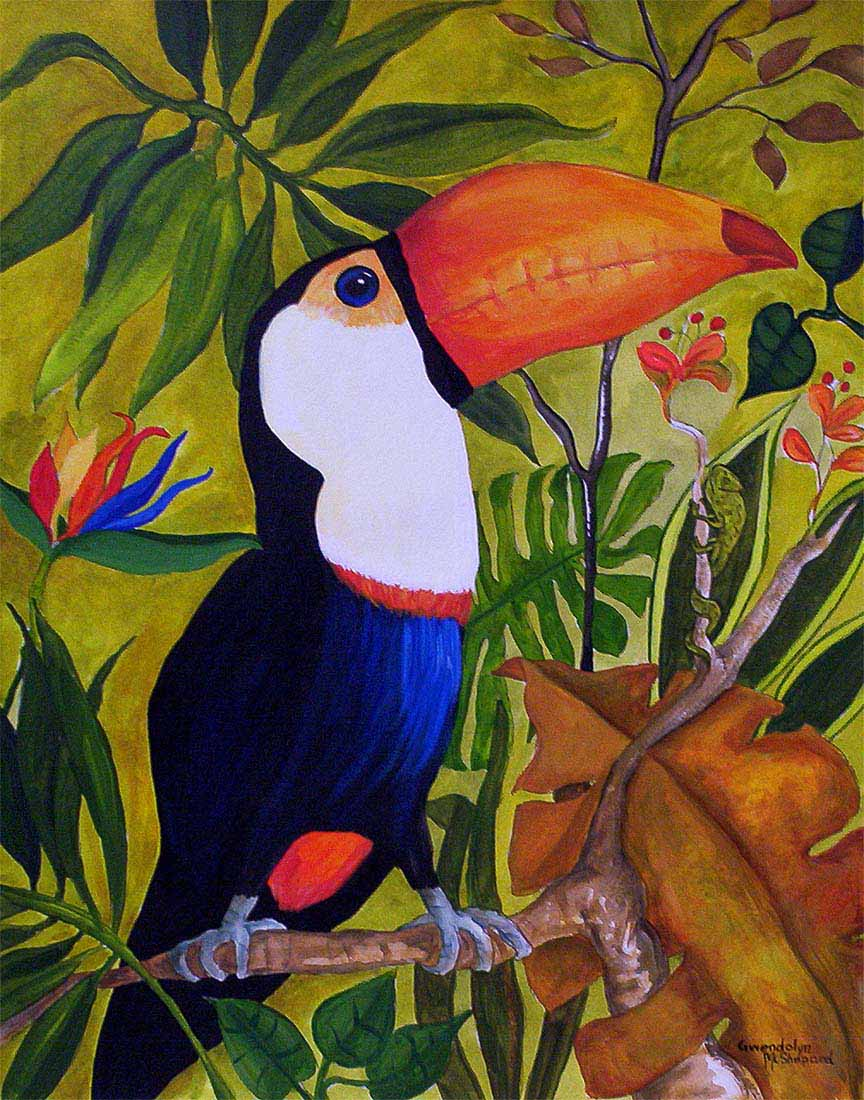 GM – Nature – Toucans I © Gwendolyn McShepard